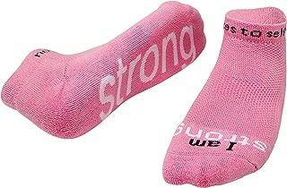 I am Strong Socks - Inspirational Socks for Women & Men