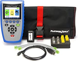 Platinum Tools TCB300 Cable Prowler Cable Tester, Cable Verifier, PoE Detector, TDR, Test Kit