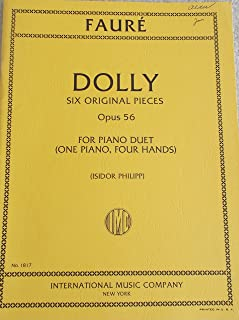 Dolly: 6 Original Pieces for Piano Duet. Opus 56. No. 1817