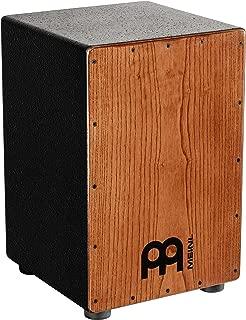 Meinl Percussion HCAJ1AWA - Cajón con parche natural de fresno, color negro