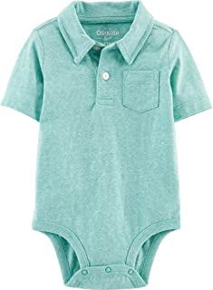 OshKosh B'Gosh Baby Boys Polo Bodysuit