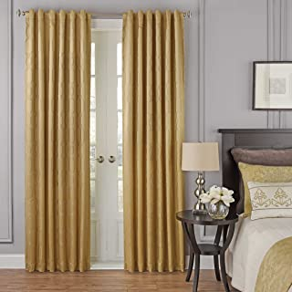 "Beautyrest Blackout Window Curtain, 16206052095GOL, Gold, 52"" x 63"""
