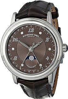 Raymond Weil Women's 2739-L2-05785 Maestro Analog Display Swiss Automatic Brown Watch