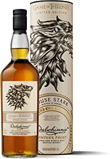 "Dalwhinnie Winter""s Frost Single Malt Scotch Whisky - Haus Stark Game of Thrones Limitierte Edition 1 x 0.7 l"