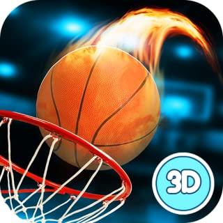 Basketball Dunk Throwing Contest - Fire Marked Hoops