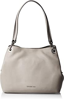 Women's Large Raven Shoulder Tote, Pearl Grey, One Size