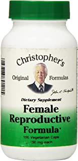 Dr Christopher's Formula Female Reproductive Formula, 100 Count