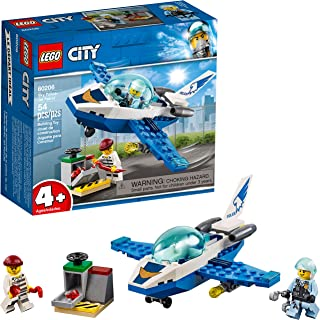 LEGO City Sky Police Jet Patrol 60206 Building Kit (54 Pieces)