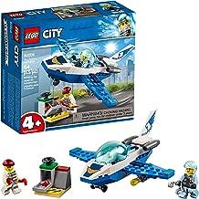 LEGO City Sky Police Jet Patrol 60206 Building Kit, 2019 (54 Pieces)