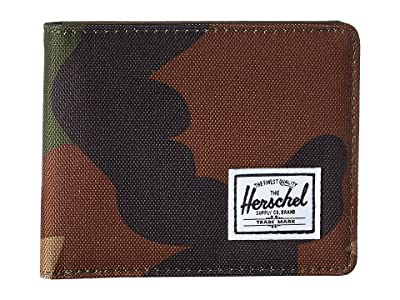 Herschel Supply Co. Roy RFID (Woodland Camo) Wallet Handbags