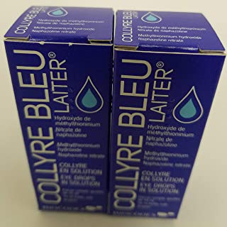 Original Laiter Collyre Bleu Eye Drops 10 Ml - French (2 pack)