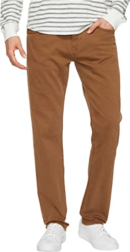Mavi Jeans - Marcus Regular Rise Slim Straight Leg in Toffee Washed Comfort
