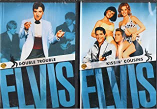 Elvis Presley : Kissin' Cousins , Double Trouble : Elvis - The King 2 Pack Gift Set