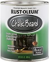 Rust-Oleum Available 206540 Chalkboard Brush-On, Black, 30-Ounce, 30 oz