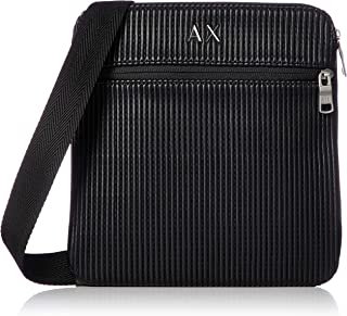 A|X Armani Exchange Small Crossbody Bag with Double Zippers