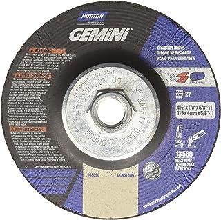 1//8 in Thick 90 Pack 5//8 in Arbor Depressed Center Wheel 4 1//2 in Dia Aluminum