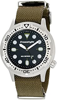 Freestyle Ballistic Diver Olive Unisex Watch 10019173