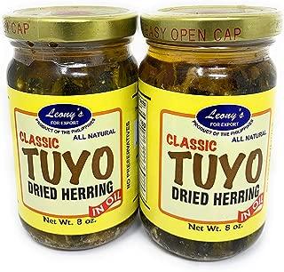 Leony's Classic Tuyo Dried Herring In Oil 8oz 2 Pack