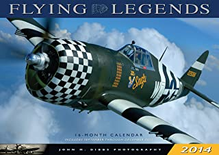 Flying Legends 2014: 16 Month Calendar - September 2013 Through December 2014