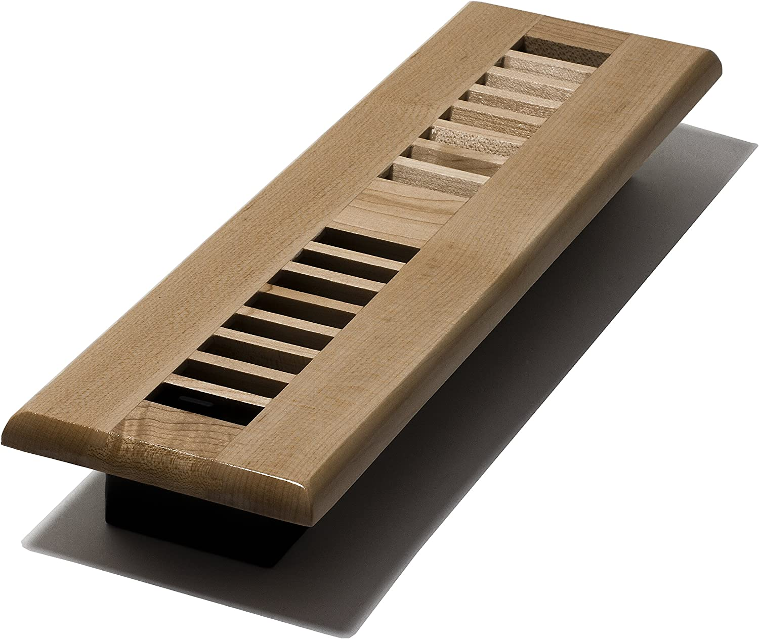 Decor Grates WML212-N 2-Inch NEW before selling by Register Wood 12-Inch Very popular Nat Floor