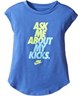 Nike Kids - Ask Me About My Kicks Tee (Toddler)