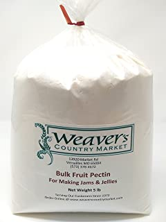 Weaver's Country Market Bulk Fruit Pectin Mix for Making Jams & Jellies (5 Lb. Plastic Bag)