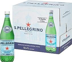 Sanpellegrino sparkling mineral water, 12 x 1000ml