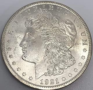 1921 P Silver Morgan Dollar Brilliant Uncirculated