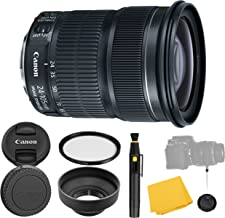 Canon EF 24-105mm f/3.5-5.6 IS STM Lens + UV Filter + Collapsible Rubber Lens Hood + Lens Cleaning Pen + Lens Cap Keeper + Cleaning Cloth - 24-105mm STM: Stepper Motor Lens - International Version