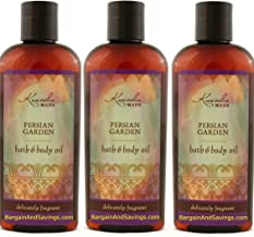 Kuumba Made Persian Garden Bath & Body Oil 6oz(pack of 3)