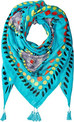 Vera Bradley - Oversized Square Resort Scarf