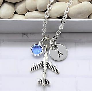 de346ddc264f Amazon.com: airplane necklace for women