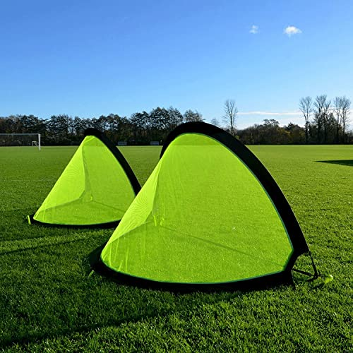 8f7e3a8ac SAHNI SPORTS PRO Pop Up Soccer Goal - Two Portable Soccer Goals with Carry  Bag