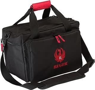 Allen Ruger Shooting Range Bag with Pistol Rug, MOLLE Loops & Ammo Carrier