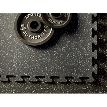 Protective Exercise Mats American Floor Mats 3//8in Gym Rubber Flooring 9mm 20/% Thick 20/% Brown//Tan 4 x 11 Hi-Color Rubber Rolls