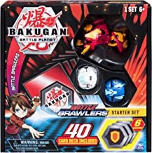 Bakugan, Battle Brawlers Starter Set with Transforming Creatures, Pyrus Hydorous, for Ages 6 & Up