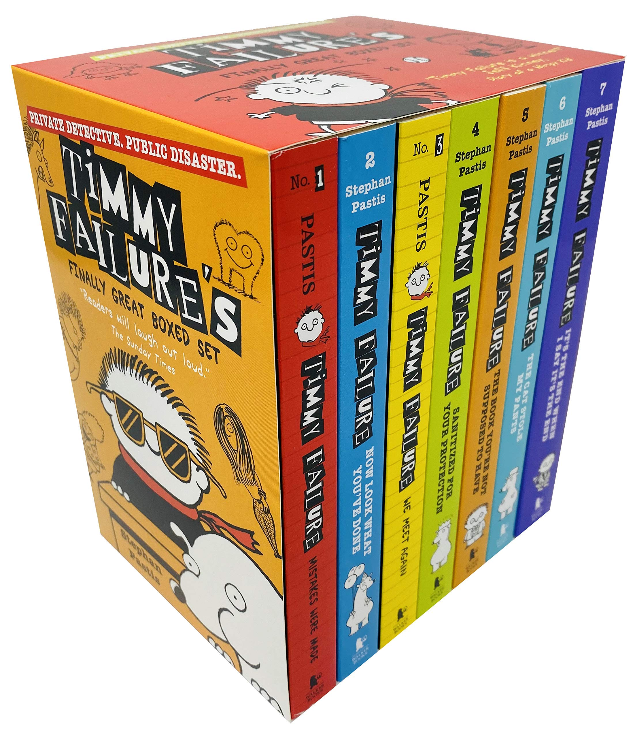 Timmy Failure's Finally Great 7 Books Collection Boxed Set