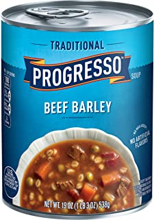 Progresso Soup, Traditional, Beef Barley Soup, 19 oz Can