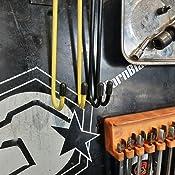 Reduce Damage to Brake Hoses Bearing Dveda 4 Pcs Brake Caliper Hanger Hook Black Reusable Steel Brake Caliper Holder for Braking Axle and Suspension Work