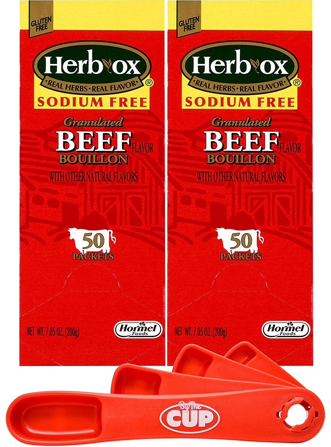 Herb-Ox Dallas Mall Granulated Sodium-Free Beef Flavor Pack Bouillon Columbus Mall of 2