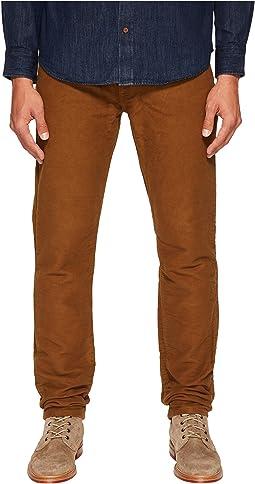 Billy Reid - Moleskin Jeans in Rubber