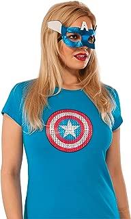 captain america eye mask