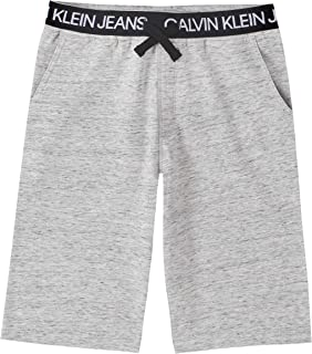 Calvin Klein Boys' Logo Waistband Sweat Short