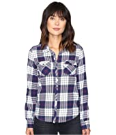 Roxy - Squary Cool Long Sleeve Flannel Shirt