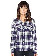 Roxy - Squary Cool Long Sleeve Flannel Shirt