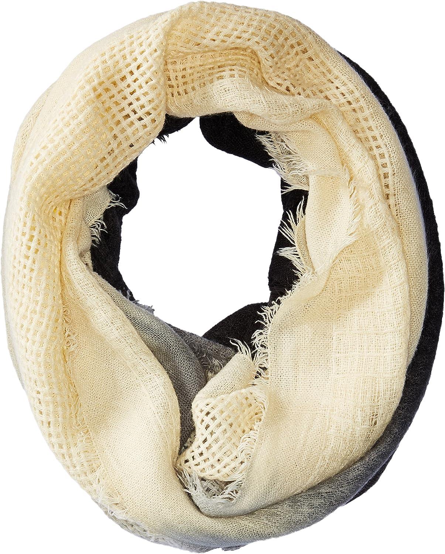 Woolrich Women's Open Check Ombre Eternity Scarf