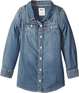 Levi's® Kids Long Sleeve Western Dress (Toddler)