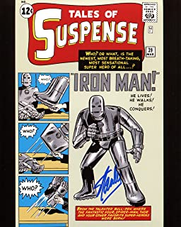 Stan Lee Signed/Autographed Tales Of Suspense 39 First Iron Man 8x10 Glossy Photo. Includes Fanexpo Certificate of Authenticity and Proof. Entertainment Autograph Original