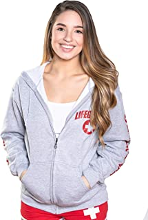baywatch red lifeguard hoodie