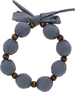 Nano-Ice Cooling Necklace - Grey   Beat The Heat in Style!   Take Out of Freezer for Hours of Cooling Relief!